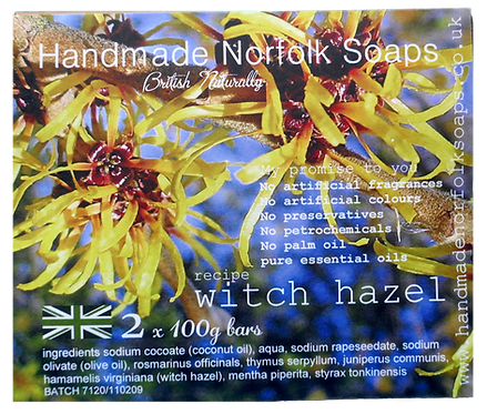 Witch Hazel - 2 Bar Box