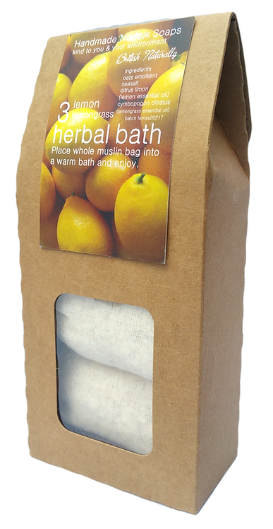 Lemon & Lemongrass Herbal Bath
