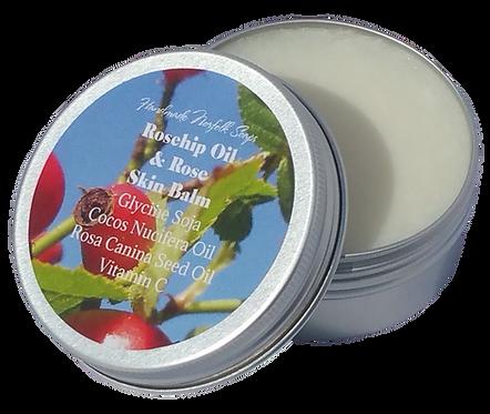 Shore Spa Rosehip Oil & Geranium Essential Oil Skin Balm