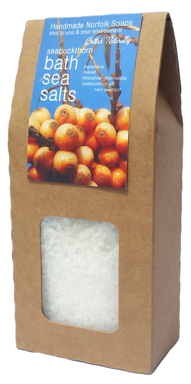 Sea Buckthorn Bath Sea Salts
