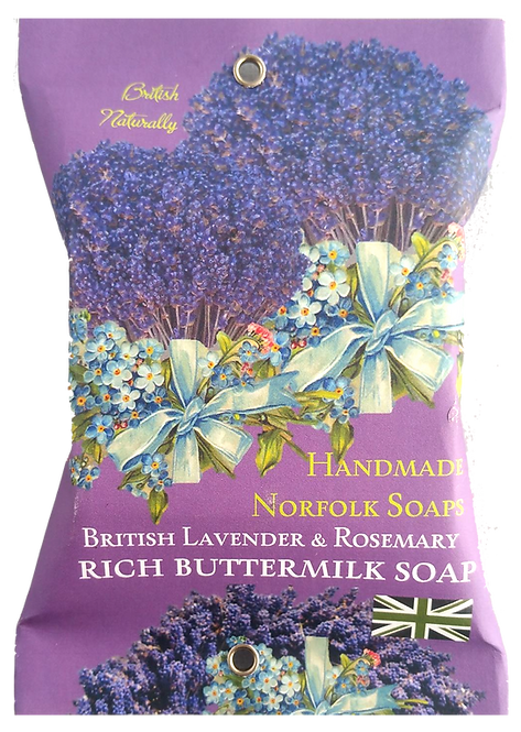 Lavender & Rosemary Buttermilk Soap
