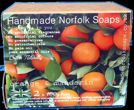 Orange & Mandarin - 2 Bar Box