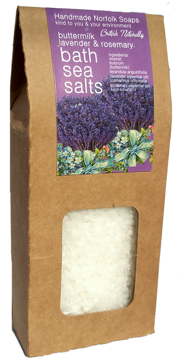 Lavender & Rosemary Buttermilk Bath Sea Salts