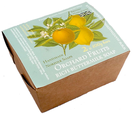 Orchard Fruits Buttermilk 2 Bar Box