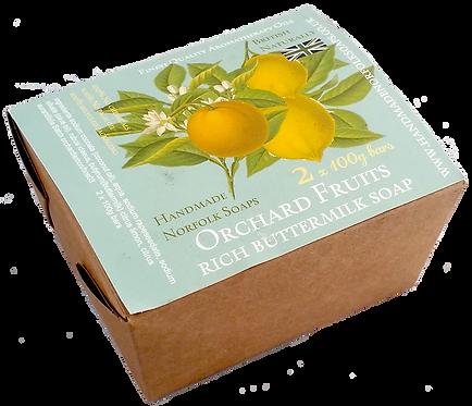 Orchard Fruits Buttermilk 2 Bar Box