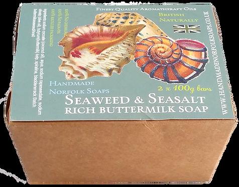 Seaweed & Seasalt Buttermilk 2 Bar Box