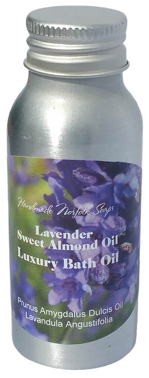 Lavender & Sweet Almond Vitamin C Bath Oil