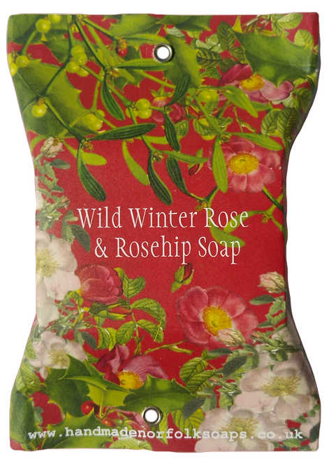 Wild Winter Rose & Rosehip Christmas Soap