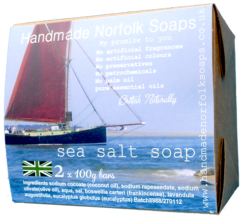 Sea Salt - 2 Bar Box