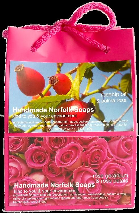 Rosehip & Rose Geranium - Bag