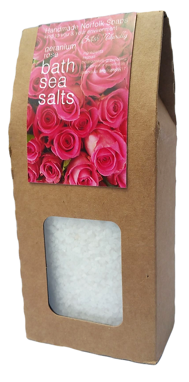 Rose Geranium Bath Sea Salts