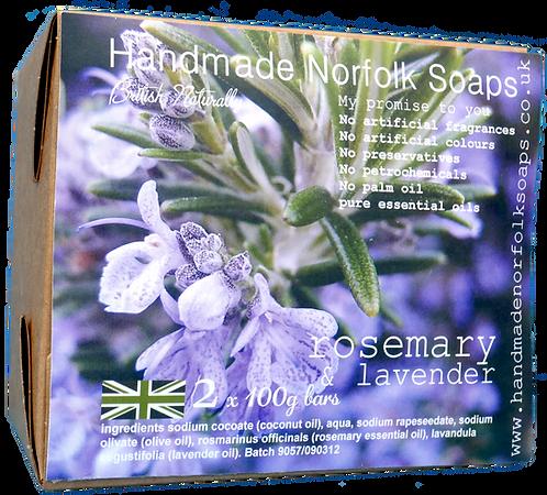 Rosemary & Lavender - 2 Bar Box
