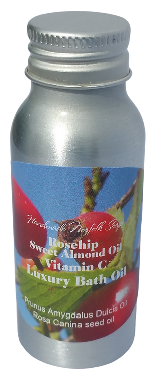 Rosehip & Sweet Almond Vitamin C Bath Oil