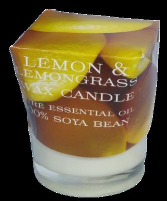 Lemon & Lemongrass Soya Wax Spa Candle