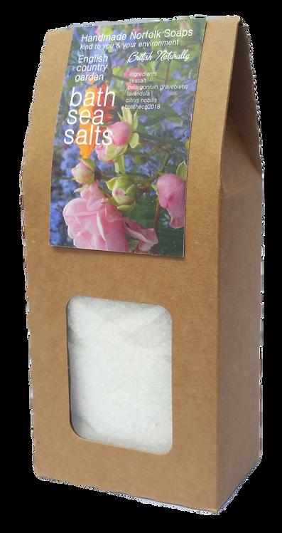English Country Garden Bath Sea Salts