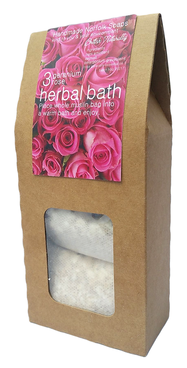 Rose Geranium Herbal Bath