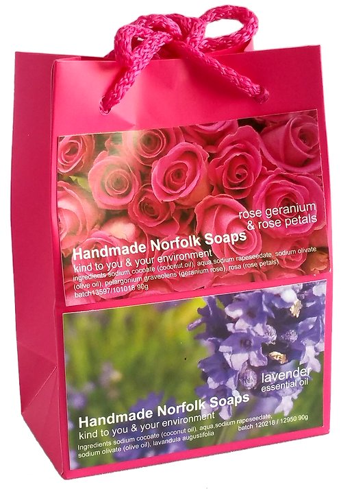 Rose Geranium & Lavender - Bag