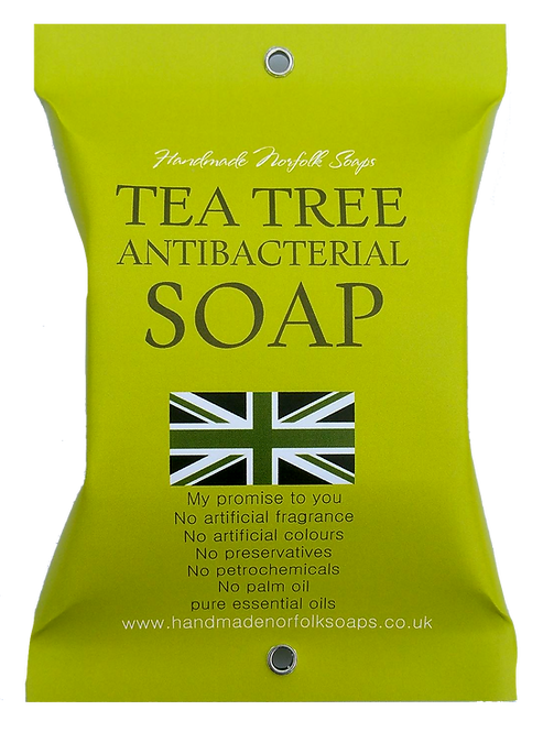 Antibacterial Tea Tree Wrapped Soap