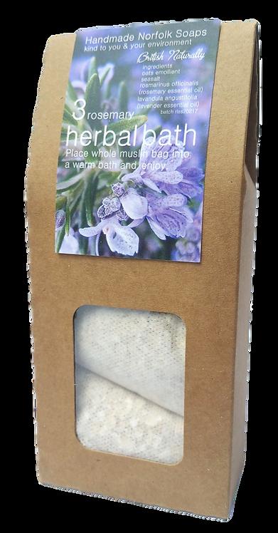 Rosemary & Lavender Herbal Bath