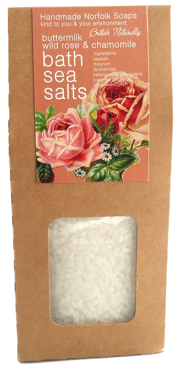 Rose & Chamomile Buttermilk Bath Sea Salts