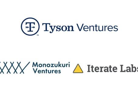 Iterate Labs raises $1 million in seed financing from Tyson Ventures and Monozukuri Ventures