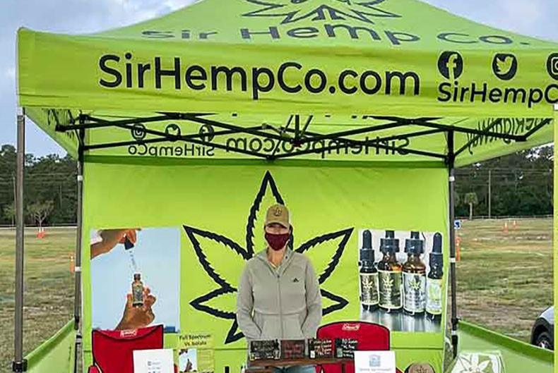 Sir Hemp Co to sell its CBD oils at the West Palm Beach Farmers Market