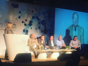 Jeffrey Friedland as a panelist at a conference in Tel Aviv.JPG