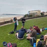 NERC CDT Course, Pembrokeshire UK (photo: Anna Clark)