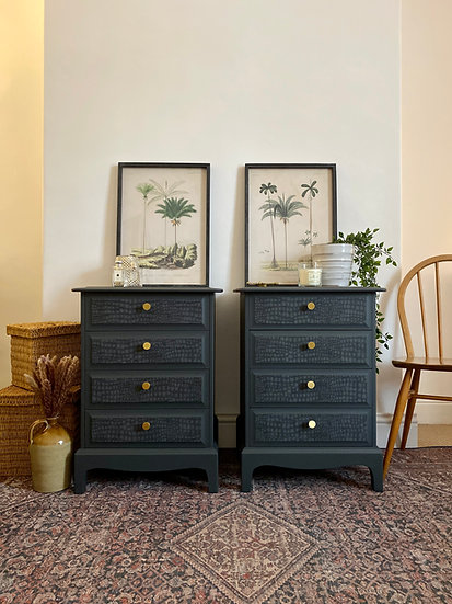 Stag Tall Bedside Drawers