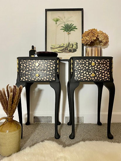 Louis Style Bedside Tables