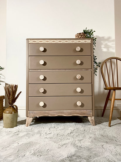 Lebus Tall Chest of Drawers