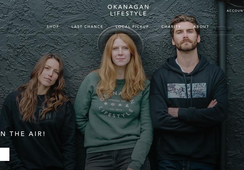 """Okanagan Lifestyle """"Knox"""" hoodie (right)"""