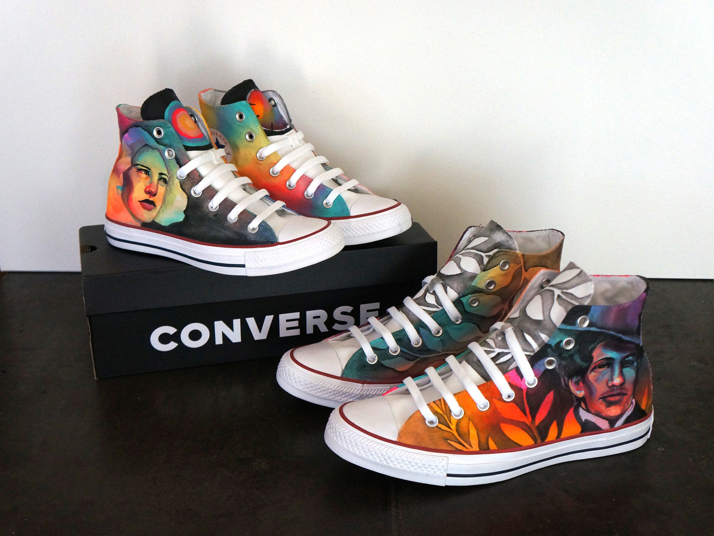 Custom Painted Converse Shoes