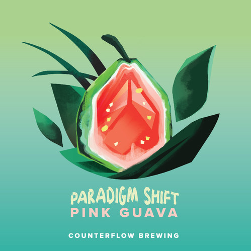 Counterflow Brewing Label