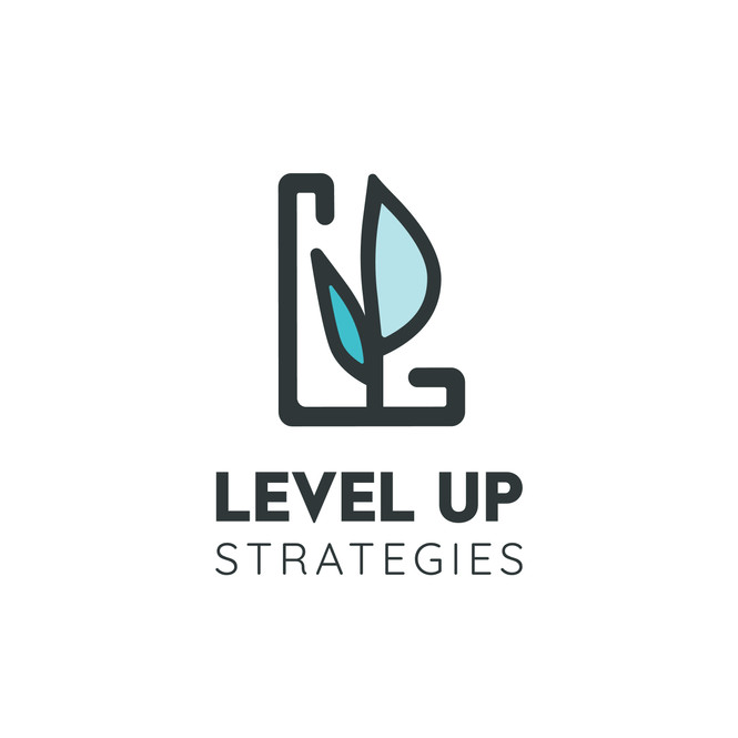 Level Up Strategies Logo Design