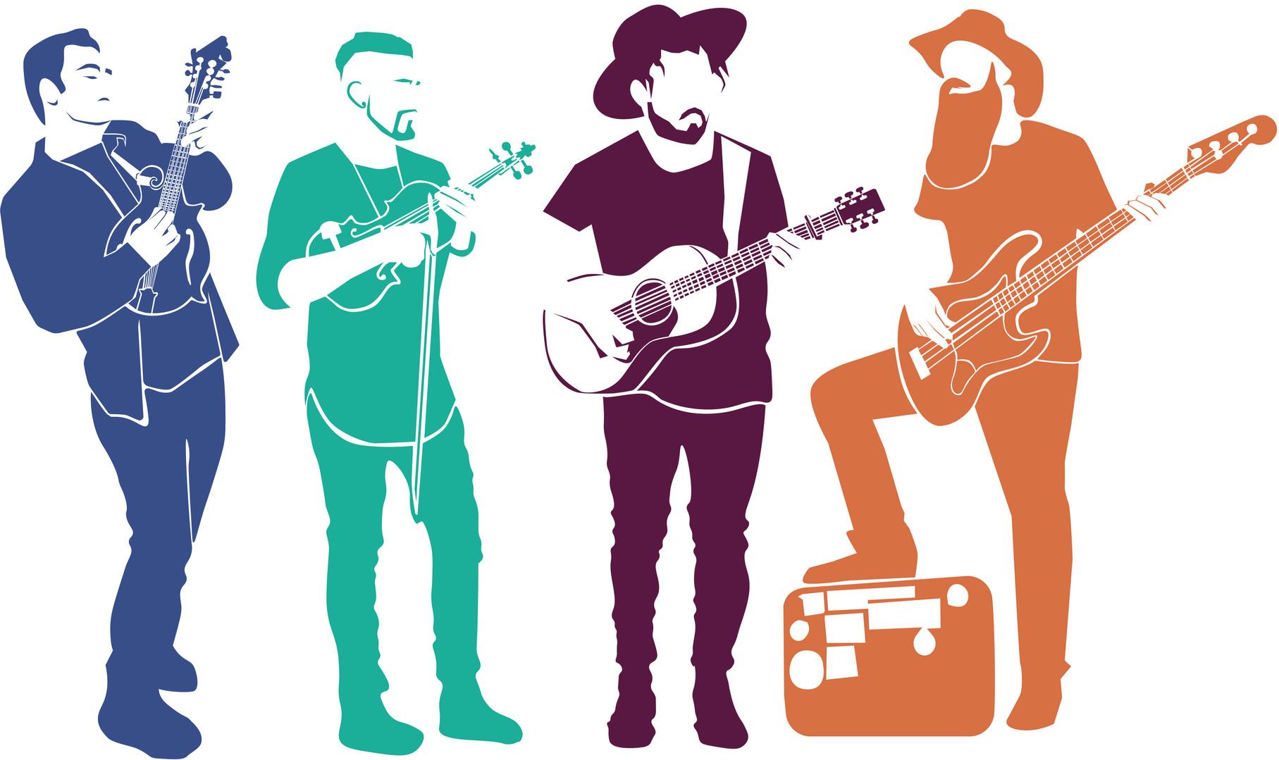 Kentucky Eileen Band Merchandise Graphic Design