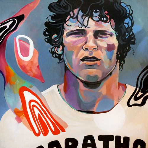 """""""I just wish people would realize that anything is possible if you try; Dreams are made possible if you try.""""- Terry Fox"""