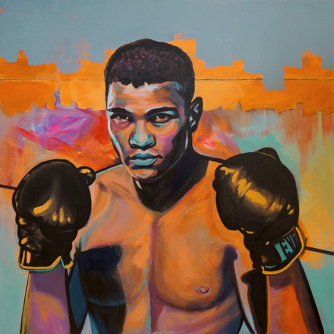 Float like a Butterfly, Sting like a Bee (Muhammad Ali)