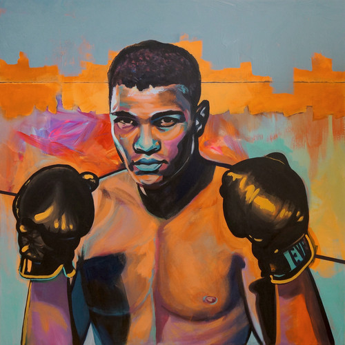 Float like a Butterfly, Sting like a Bee (Muhammad Ali)