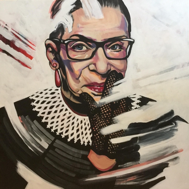 """My mother told me to be a lady. And for her, that meant be your own person, be independent.""- Ruth Bader Ginsburg"