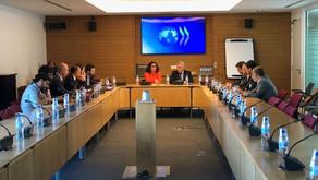Estuvimos reunidos con OCDE