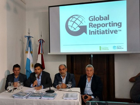 1er Reporte de Sustentabilidad de la Municipalidad de Alta Gracia