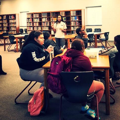 Carver High School FTH Training