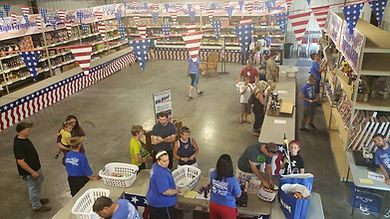 Shopping indoors for fireworks