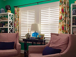 Plantation Shutters, Traditional tilt