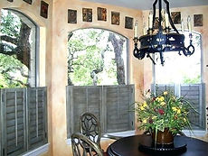 painting-plantation-shutters-cafe-style-