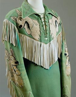 Western Shirt, Nudie's Rodeo Tailors, ca. 1950 Autry National Center, Museum of the American West. Gift of Roy Rogers and Dale Evans.