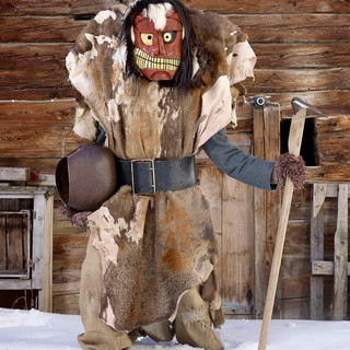 Traditional Alps costume