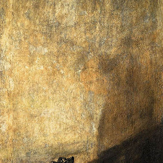 Drowning dog by Francisco de Goya