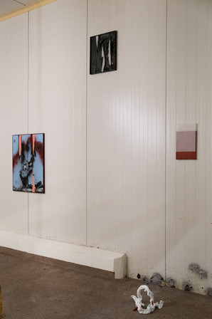 Installation view 'A conversation about life and death' 2020